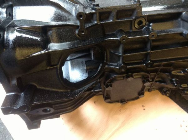 Iveco 35c12 5 speed gearbox